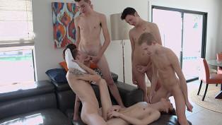 Blake Anderson, Connor Jacobs, Greco Rai, Trey Ryan & Kyler Rex