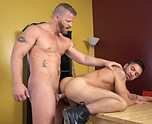 Married Muscled Buddy Gets It 4