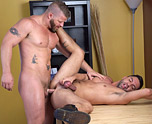 Married Muscled Buddy Gets It 6