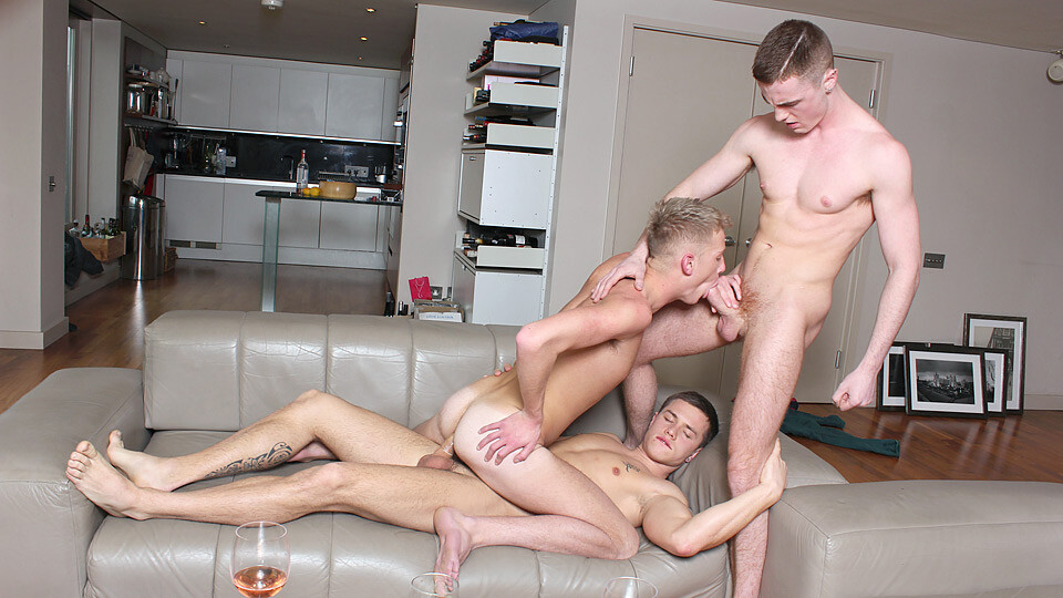 Some Cock Before The Orgy – Billy Rubens, JP Dubois & Danny Daniels