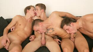 Chester Pool, Thomas Fiaty, David Gold & Patrik Jensen