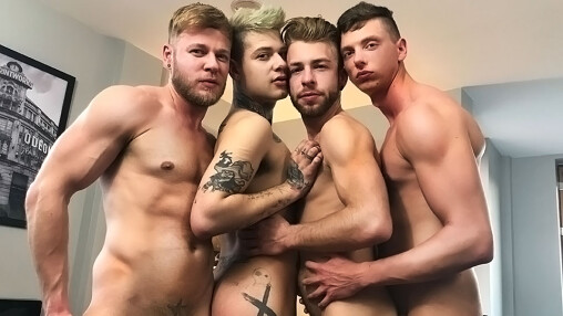 A Cum-Drenched Fuck Party