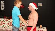 Hunky Santa Visits Patrick! 2