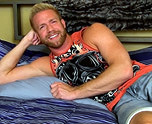 In Bed With Gorgeous Christopher 1